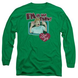 I LOVE LUCY PUT ME IN THE SHOW- L/S ADULT 18/1 T-Shirt
