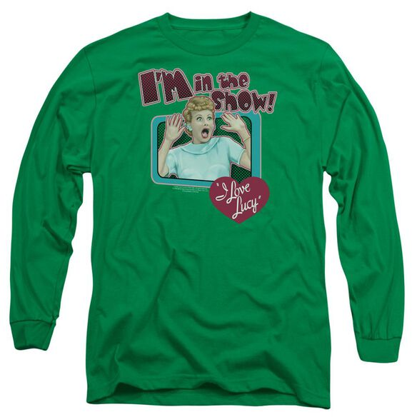 I Love Lucy Put Me In The Show Long Sleeve Adult Kelly T-Shirt