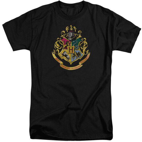 Harry Potter Hogwarts Crest Short Sleeve Adult Tall T-Shirt