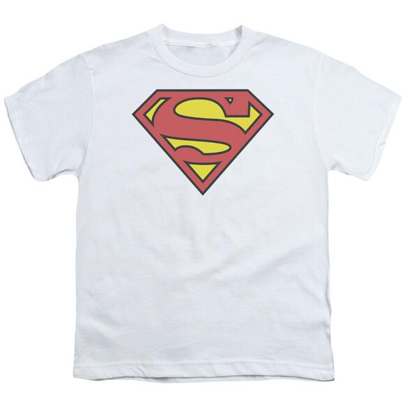 Superman Classic Logo Short Sleeve Youth T-Shirt