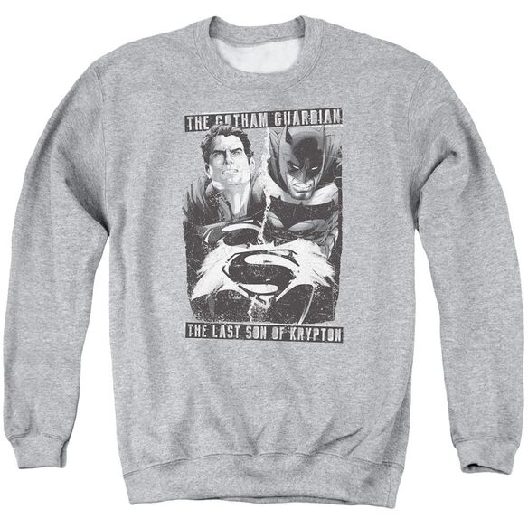 Batman V Superman Guardian V Son Adult Crewneck Sweatshirt Athletic