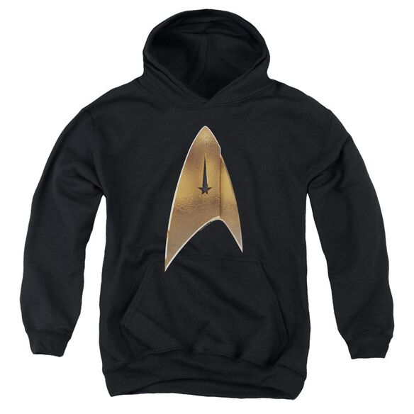 Star Trek Discovery Command Shield Youth Pull Over Hoodie