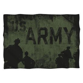 Army Strong Pillow Case White