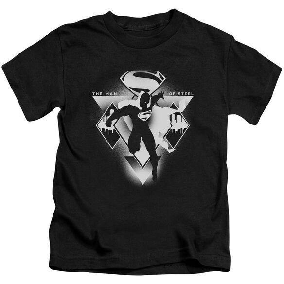 Batman V Superman Triple Diamond Short Sleeve Juvenile T-Shirt