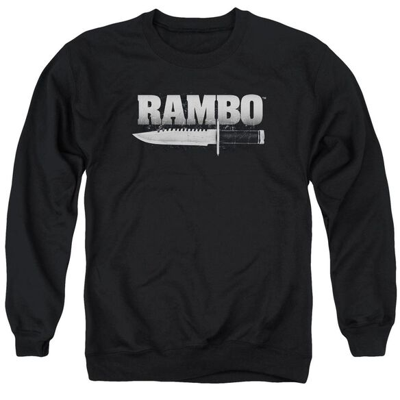 Rambo:First Blood Knife Adult Crewneck Sweatshirt
