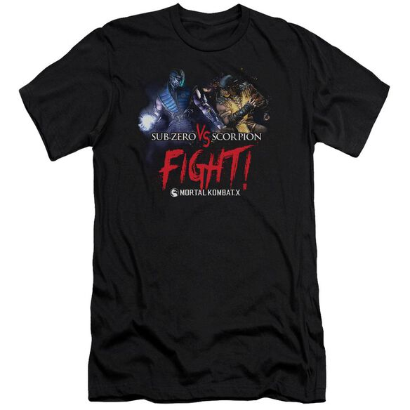 Mortal Kombat X Fight Short Sleeve Adult T-Shirt