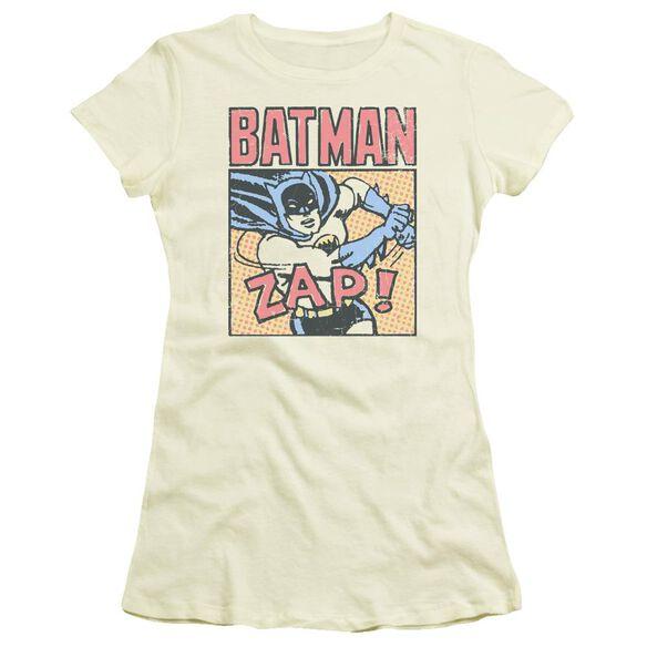 Batman Bat Zap Short Sleeve Junior Sheer T-Shirt