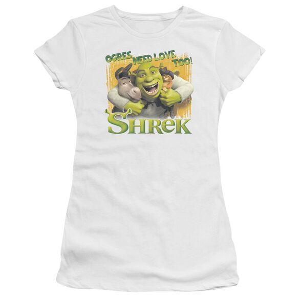 Shrek Ogres Need Love Premium Bella Junior Sheer Jersey