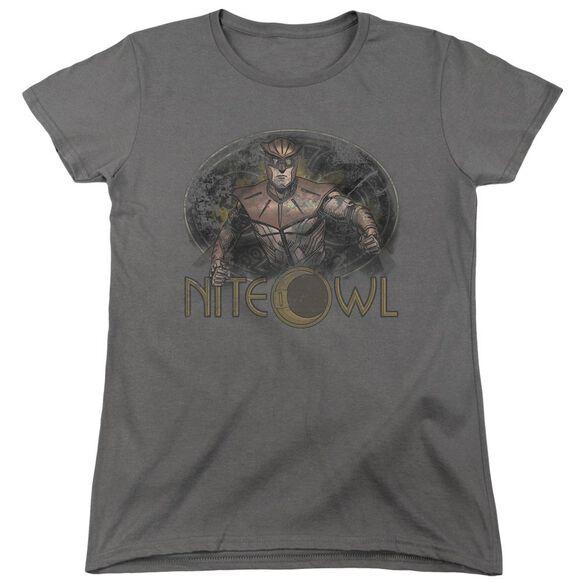 Watchmen Nite Owl Short Sleeve Womens Tee T-Shirt