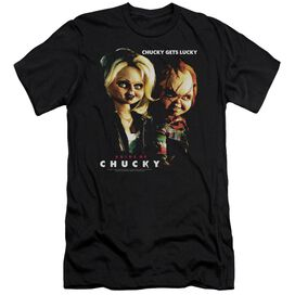 Bride Of Chucky Chucky Gets Lucky-premuim Canvas Adult Slim
