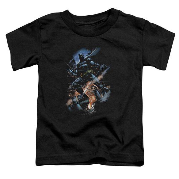 Batman Gotham Knight Short Sleeve Toddler Tee Black T-Shirt