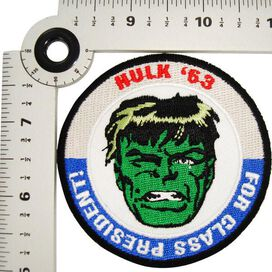 Incredible Hulk President Patch