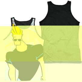 JOHNNY BRAVO HANGING OUT-ADULT POLY TANK TOP
