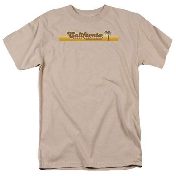 California Short Sleeve Adult Sand T-Shirt