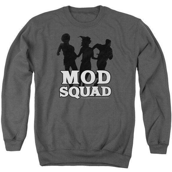 Mod Squad Mod Squad Run Simple Adult Crewneck Sweatshirt