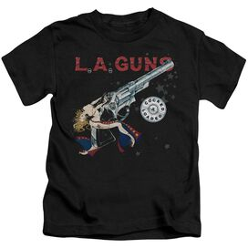 La Guns Cocked And Loaded Short Sleeve Juvenile T-Shirt