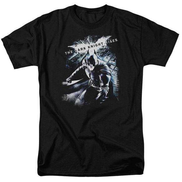 Dark Knight Rises More Than A Man Short Sleeve Adult T-Shirt