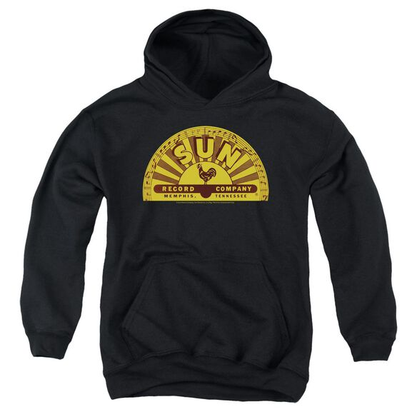 Sun Traditional Logo Youth Pull Over Hoodie