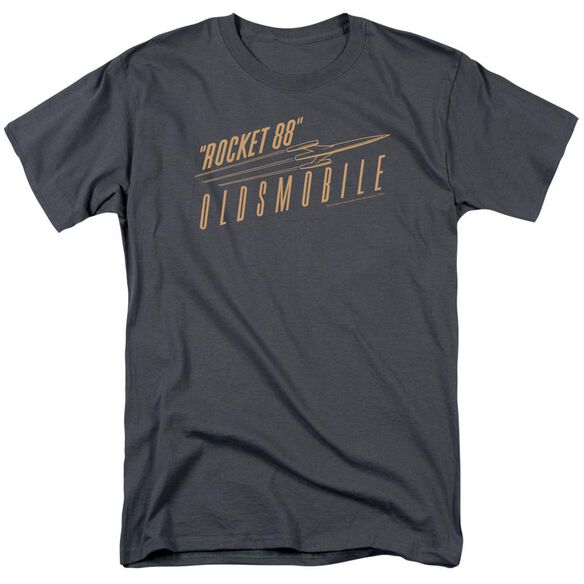 Oldsmobile Retro 88 Short Sleeve Adult Charcoal T-Shirt