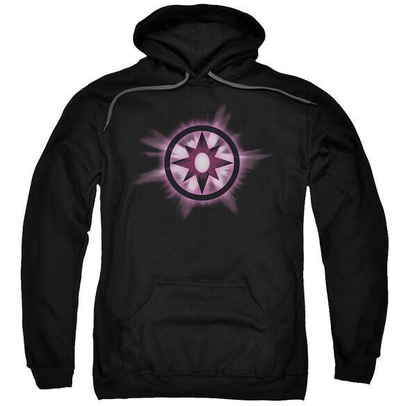Green Lantern Sapphire Glow Adult Pull Over Hoodie