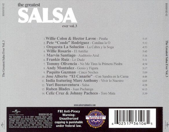 Greatest Salsa Ever V3 07