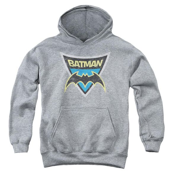 Batman Bb Batman Shield Youth Pull Over Hoodie