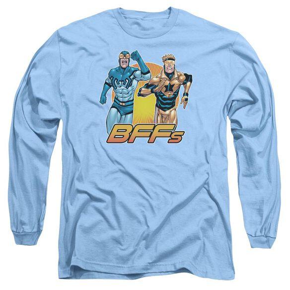 Jla Booster Beetle Bff Long Sleeve Adult Carolina T-Shirt
