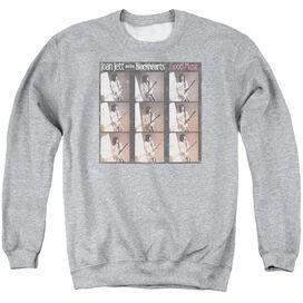 Joan Jett Good Music Adult Crewneck Sweatshirt Athletic