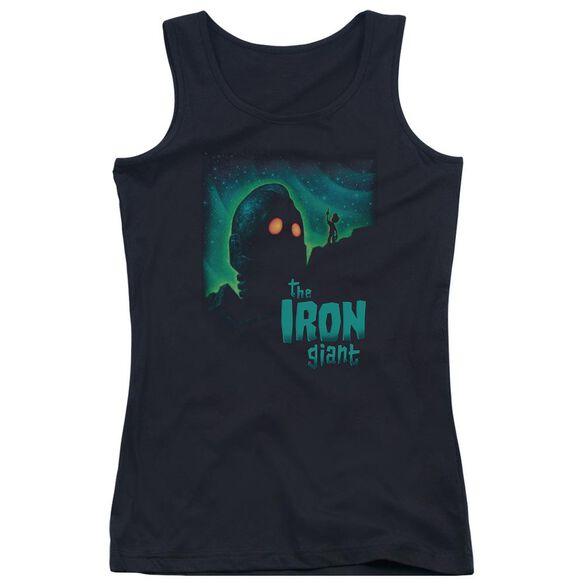 Iron Giant Look To The Stars Juniors Tank Top