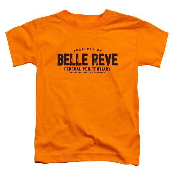 Batman Belle Reve Short Sleeve Toddler Tee Orange T-Shirt
