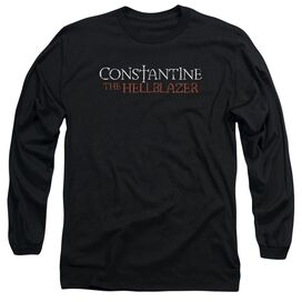 Constantine Hellblazer Logo Long Sleeve Adult T-Shirt