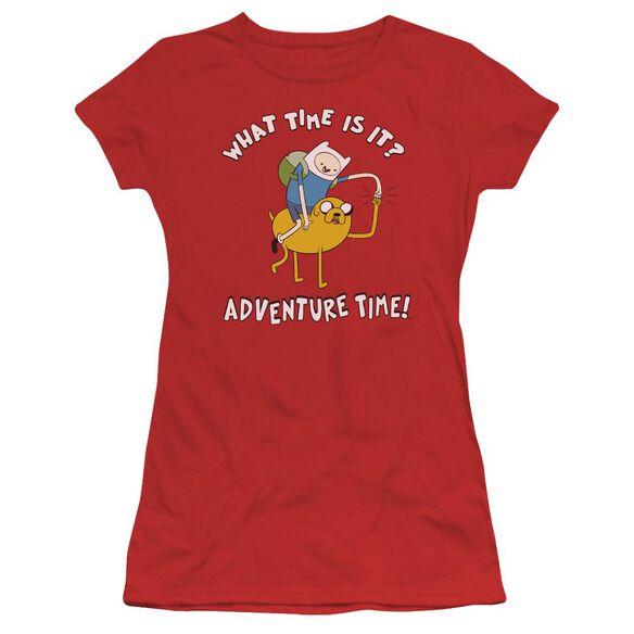 Adventure Time Ride Bump Short Sleeve Junior Sheer T-Shirt