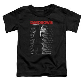 David Bowie Station To Station Short Sleeve Toddler Tee Black T-Shirt