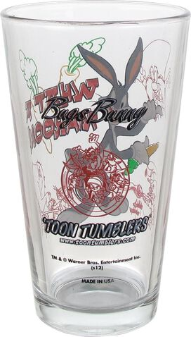 Looney Tunes Bugs Bunny Pint Glass