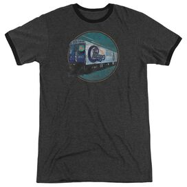 Chicago The Rail Adult Heather Ringer Charcoal