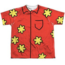 Family Guy Quagmire Costume Short Sleeve Youth Poly Crew T-Shirt