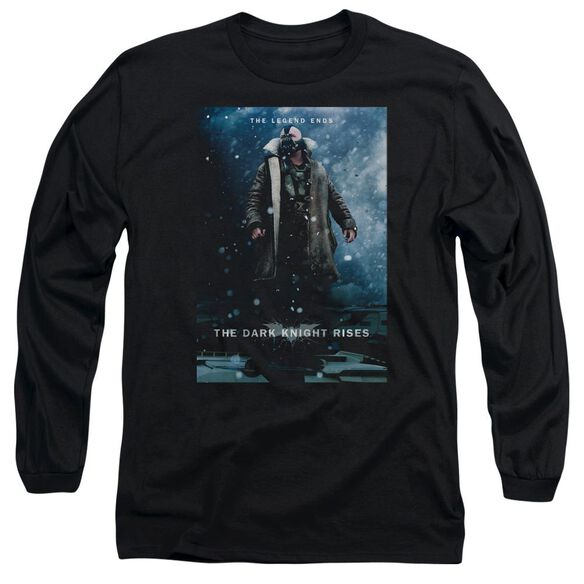 Dark Knight Rises Bane Poster Long Sleeve Adult T-Shirt