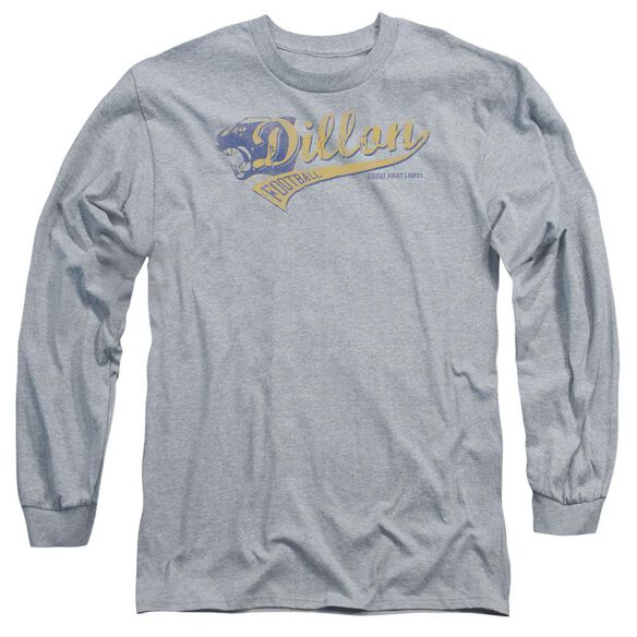 Friday Night Lights Team Spirit Long Sleeve Adult Athletic T-Shirt