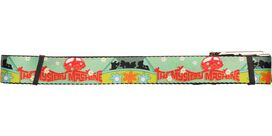 Scooby Doo The Mystery Machine Green Mesh Belt