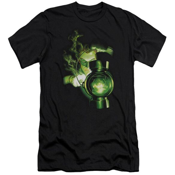 Green Lantern Lantern Light Premuim Canvas Adult Slim Fit