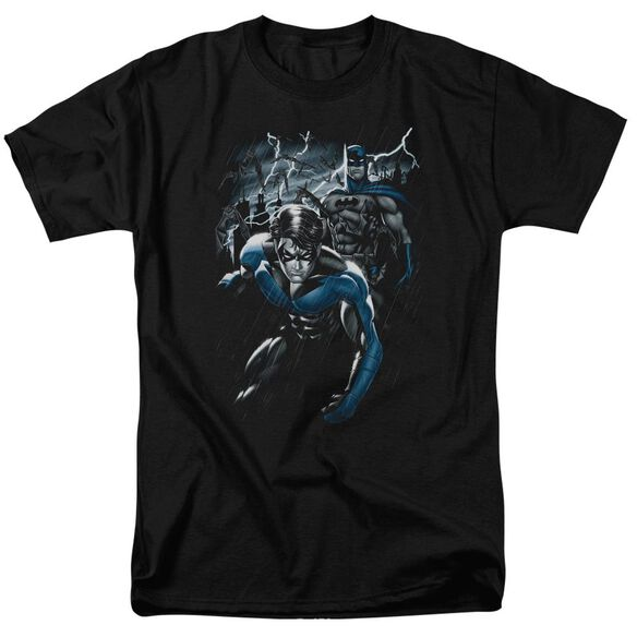 BATMAN DYNAMIC DUO - S/S ADULT 18/1 - BLACK T-Shirt