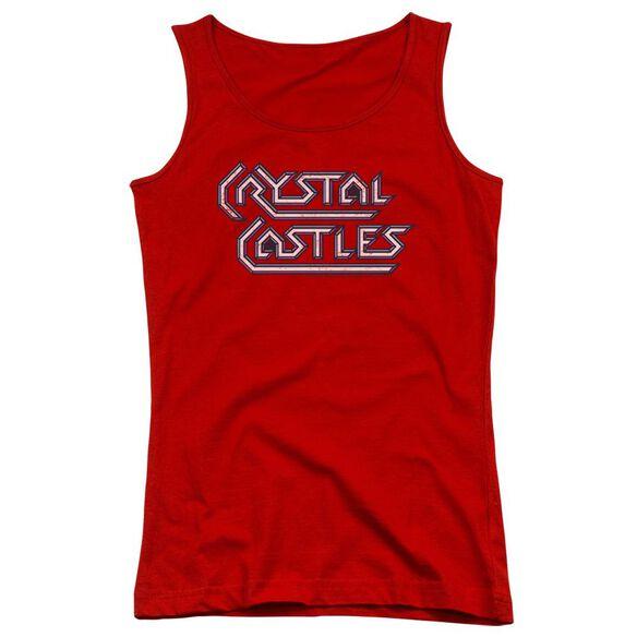 Atari Crystal Castles Logo Juniors Tank Top