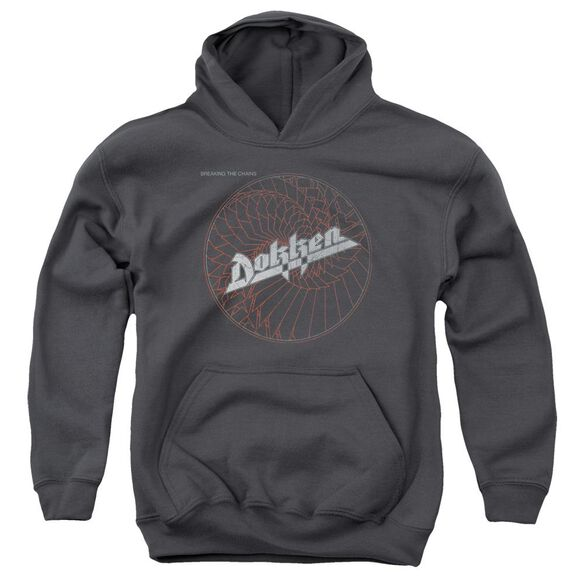 Dokken Breaking The Chains Youth Pull Over Hoodie