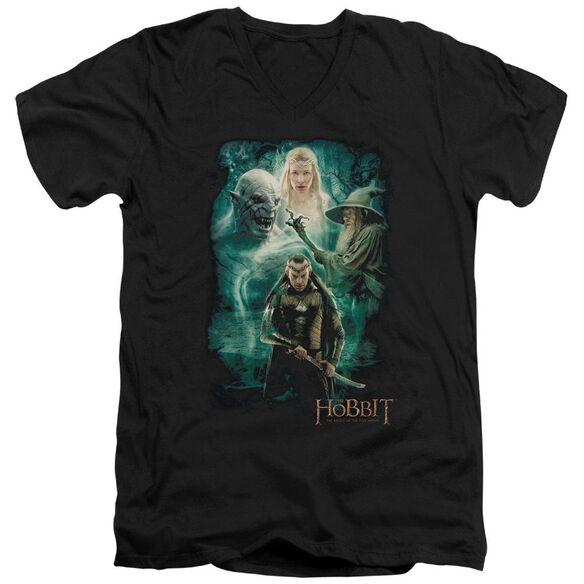 Hobbit Elrond's Crew Short Sleeve Adult V Neck T-Shirt