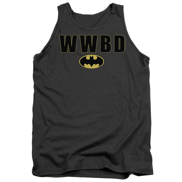 Batman Wwbd Logo Adult Tank