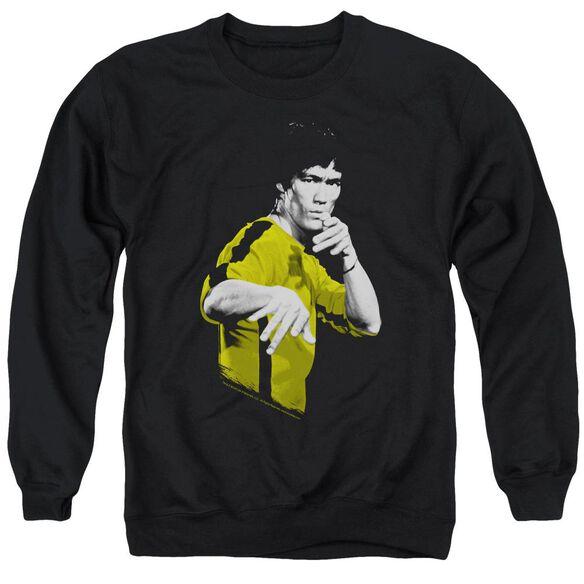 Bruce Lee Suit Of Death Adult Crewneck Sweatshirt