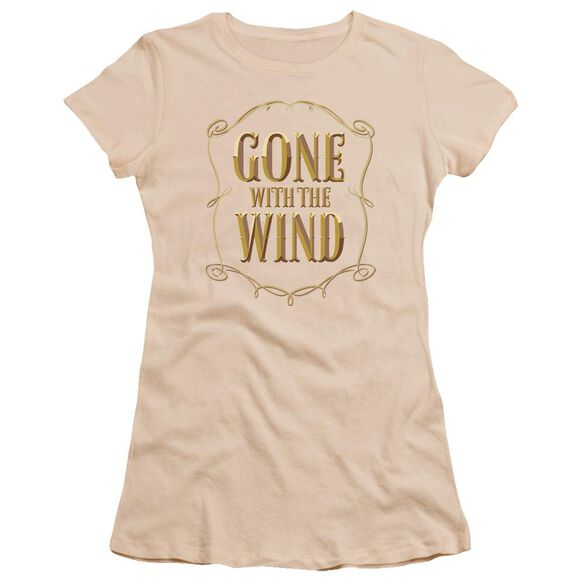 Gone With The Wind Logo Premium Bella Junior Sheer Jersey