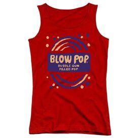 Tootsie Roll Blow Pop Rough Juniors Tank Top