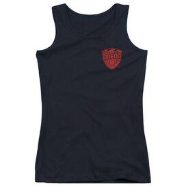 Judge Dredd Badge Juniors Tank Top