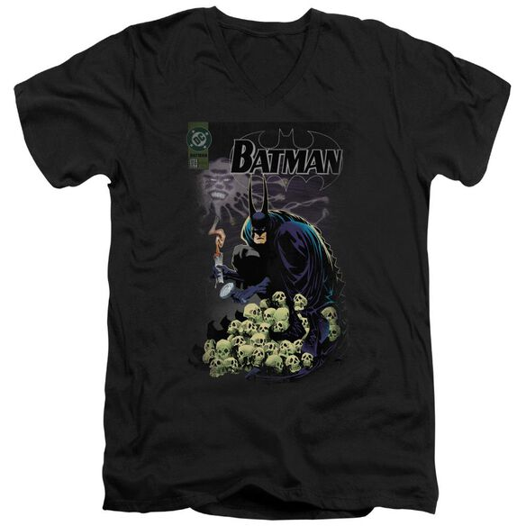 Batman Cover #516 Short Sleeve Adult V Neck T-Shirt